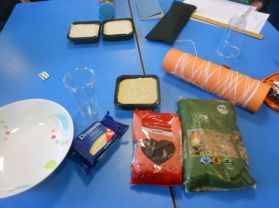 P.5. and Eco-School Council make bird feeders